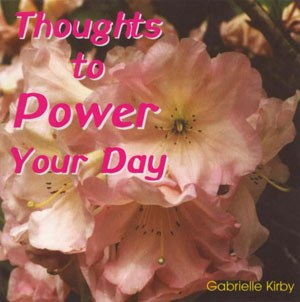 Thoughts to Power Your Day, CD