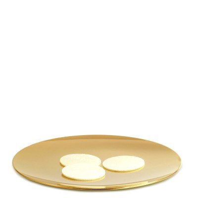 Gold Plated Paten (14cm)