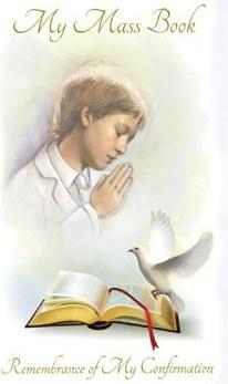 Confirmation Hardback Prayerbook for Boys
