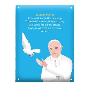 WMOF Journey Prayer Metal Plaque