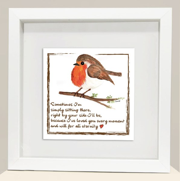 RC008 For All Eternity Red Robin Frame