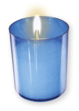 Blue Pack of 4 Votive Lights