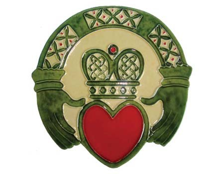 Claddagh Ring Wall Plaque