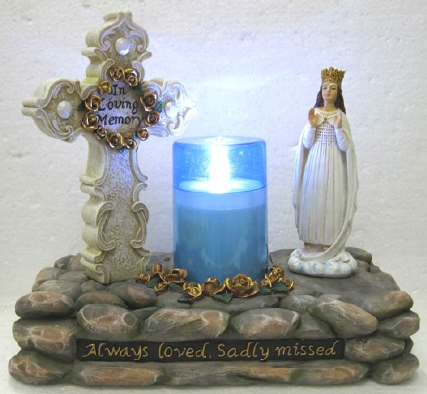 Our Lady of Knock Ornament with LED