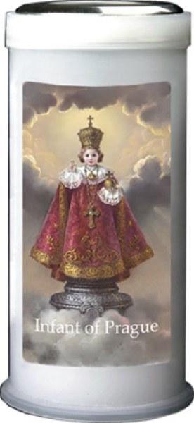 Infant of Prague Pillar Candle