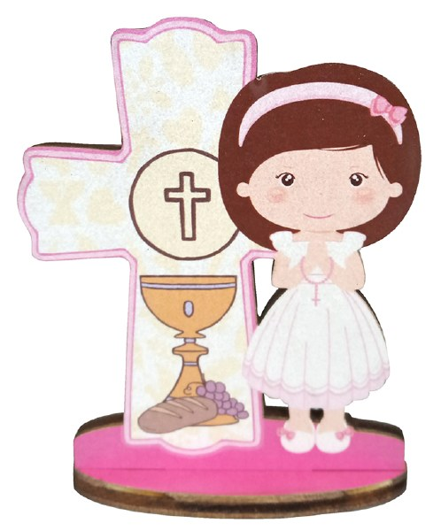 Girl First Holy Communion Blessing Cross