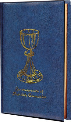 First Holy Communion Blue Prayer Book