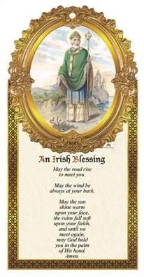 St Patrick Plaque