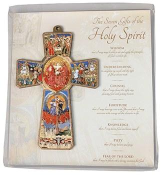 Holy Spirit Wood Cross