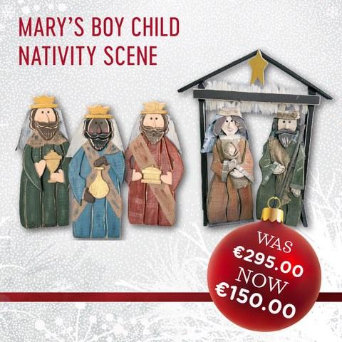 Marys Boy Child Nativity Scene