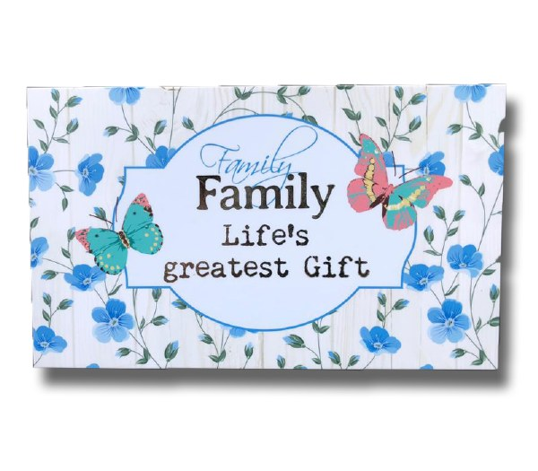 Family Blooms Keepsake Box