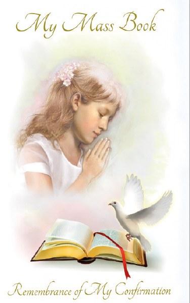 Confirmation Hardback Prayer Book for Girls
