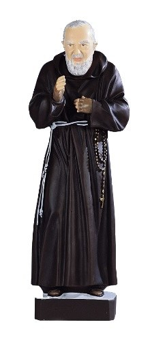Large Statue of Padre Pio suitable for churches, schools and sacred spaces (60cm)