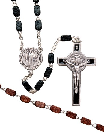 Wooden Black Rosary Beads