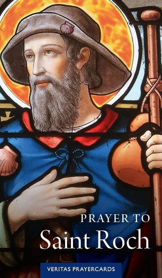 St. Roch Prayer Card Bundle (250 Cards)