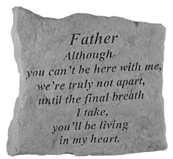 15820 Although Father Memorial Stone