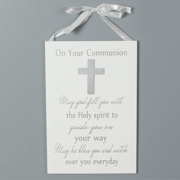 First Holy Communion Gift Plaque