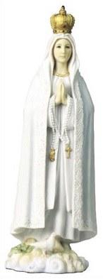 Veronese Resin Fatima Statue (27cm)