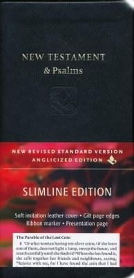 NRSV New Testament & Psalms Black Gilt