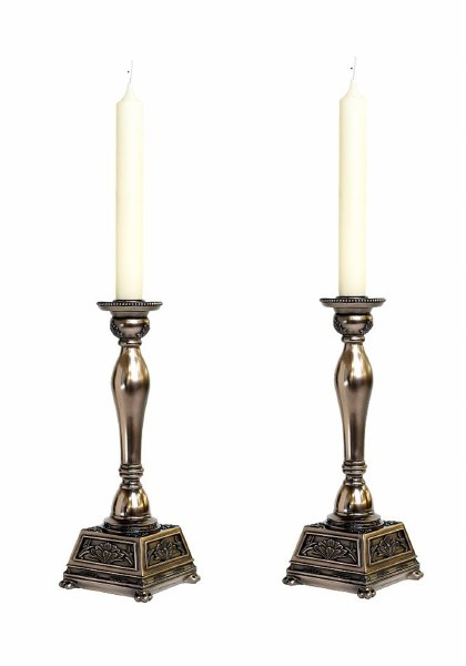 Pair of Abbey Candlestick Holders