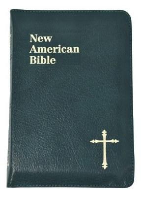 St Joseph NAB Personal Gift Bible Green Zipped
