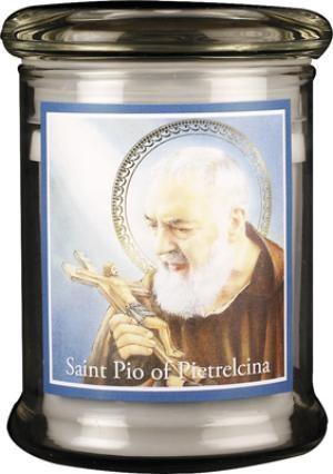 St Pio LED Candle