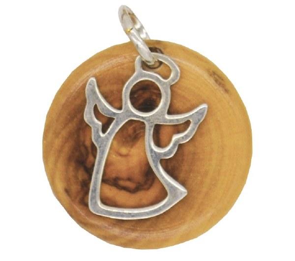 Flying Angel Star Of Bethlehem Pendant