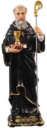 St Benedict Statue (12cm)