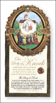 Lady of Knock Wood Plaque
