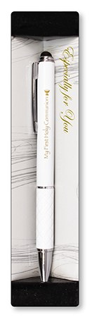 White First Holy Communion Pen