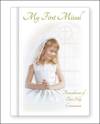 Girl Hardback First Holy Communion Prayer Book