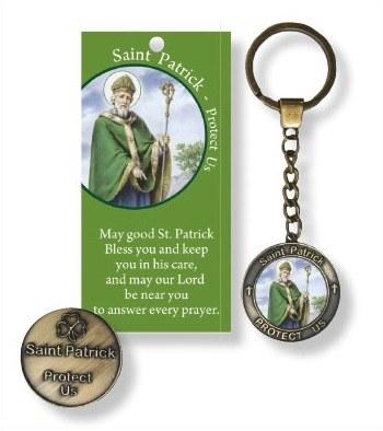 St Patrick Leaflet and Keyring