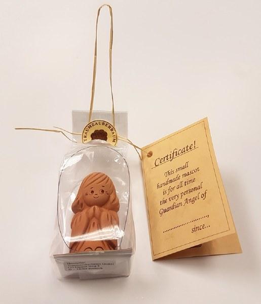Handmade Clay Guardian Angel in Gift box (4cm)