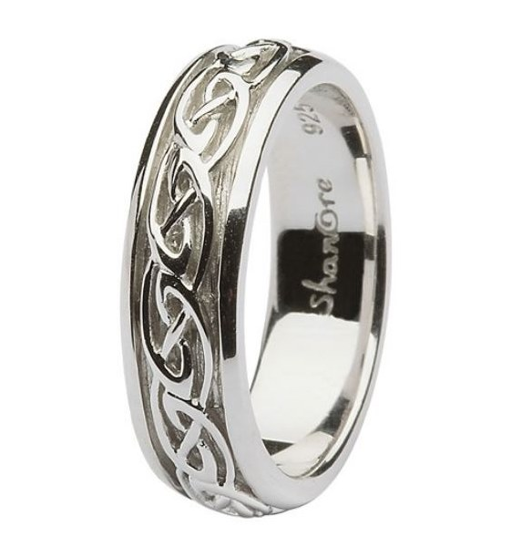 Sterling Silver Celtic Ladies Ring