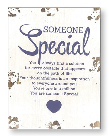 Someone Special Wood Plaque