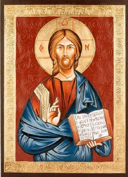 Jesus Christ Church Icon (44 x 32cm)