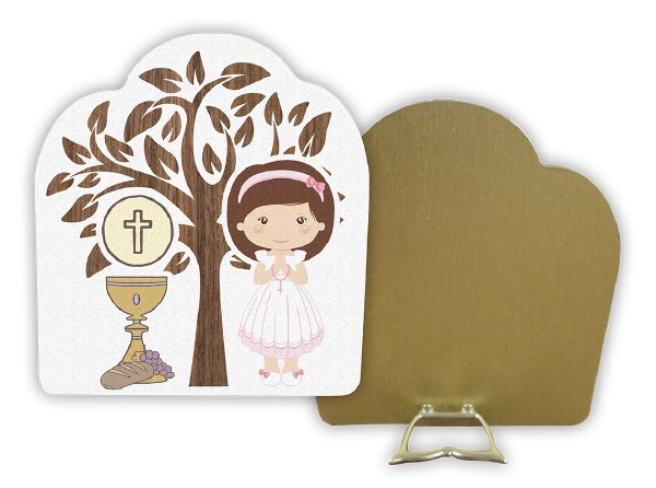 Girl First Holy Communion Plaque