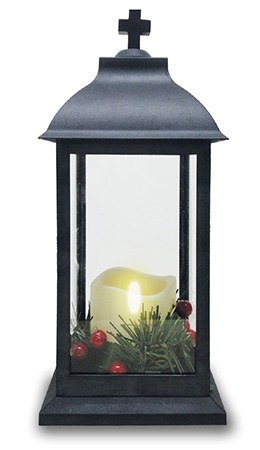 Christmas LED Grave Lantern 30cm