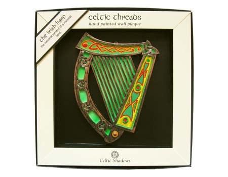 Irish Harp Plaque