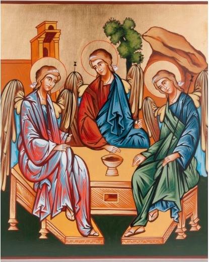 Trinity Church Icon (32 x 22cm)