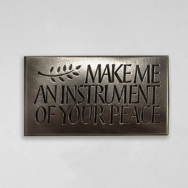 Make Me an Instrument of Your Peace - Wild Goose Art
