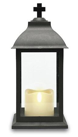 Christmas LED Grave Lantern 18cm