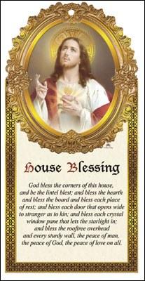 Sacred Heart Wood Plaque