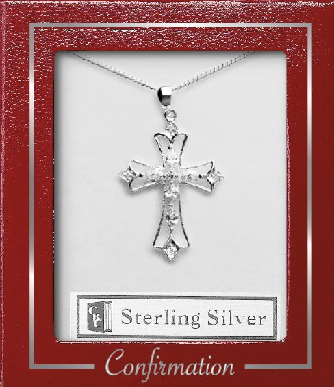 Confirmation Sterling Silver Cross