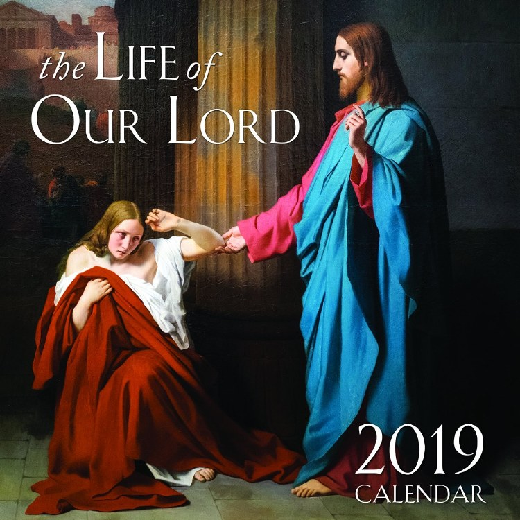 2019 The Life of Our Lord Wall Calendar