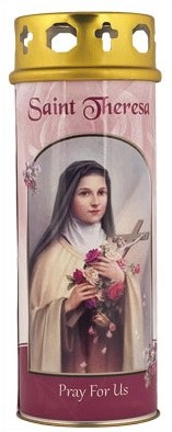 St Theresa Windproof Cap candle