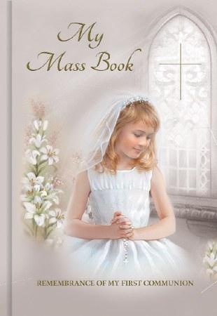 Girl First Holy Communion Mass Book