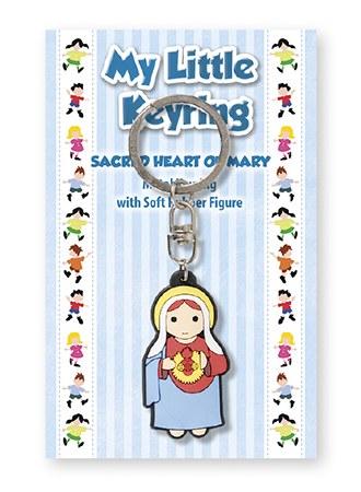 Sacred Heart of Mary Children's Keyring