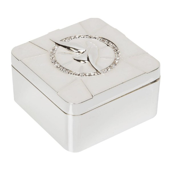 Confirmation Dove Trinket Box