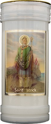 St Patrick Candle